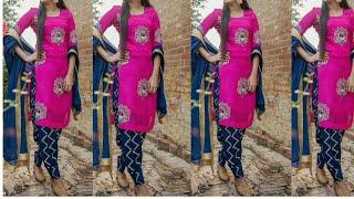 Top Colour Combination Punjabi Suits Designs || Fastivals Wear Punjabi Salwar Suits Designs 2018