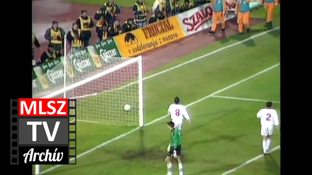Jugoszlávia-Magyarország | 5-0 | 1997. 11. 15 | MLSZ TV Archív