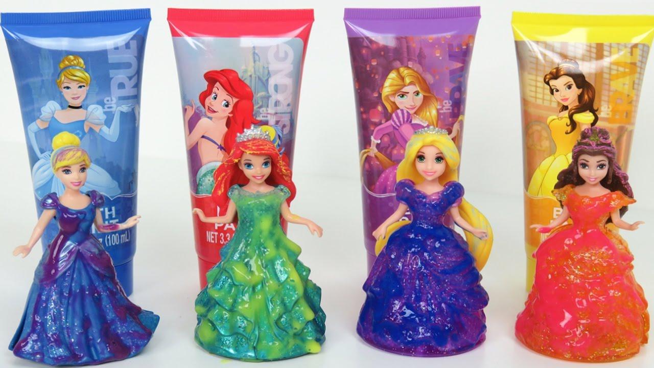 Disney Princess Bath Paints Activity Set and Glitter Glider ...