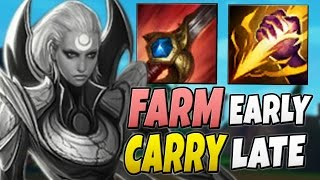 FARM EARLY CARRY LATE - Diana Jungle Gameplay Season 7 - League of Legends