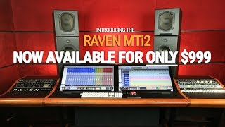 Introducing the Slate RAVEN MTi2 Multi-Touch Audio Control Surfaces