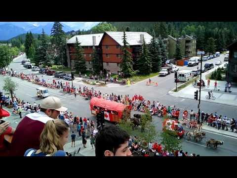 Canada day Banff, July 1th 2017