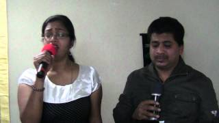 Puthu vellai mazhai Karaoke sung by Vincent and Mary Kumar