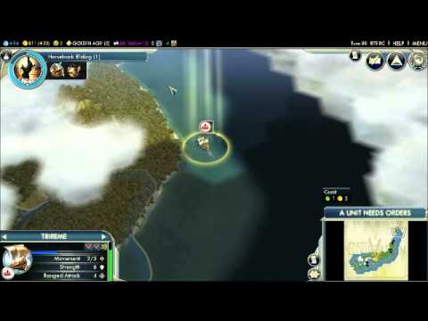 Lets Play Civilization V Oda Nobunaga Japan Mainland Part - Japan map civ 5
