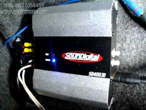 Honda Civic Lx Pioneer 308 + Soundigital SD400.1D Parte 2 - YouTube