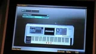 Fantom-G Chord Memory