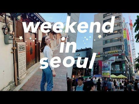 SEOUL VLOG |  a weekend in seoul, south korea