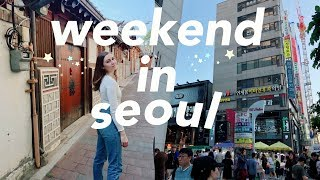 SEOUL VLOG | a weekend in seoul, south korea
