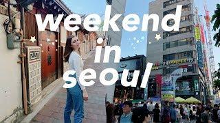 SEOUL VLOG    a weekend in seoul, south korea