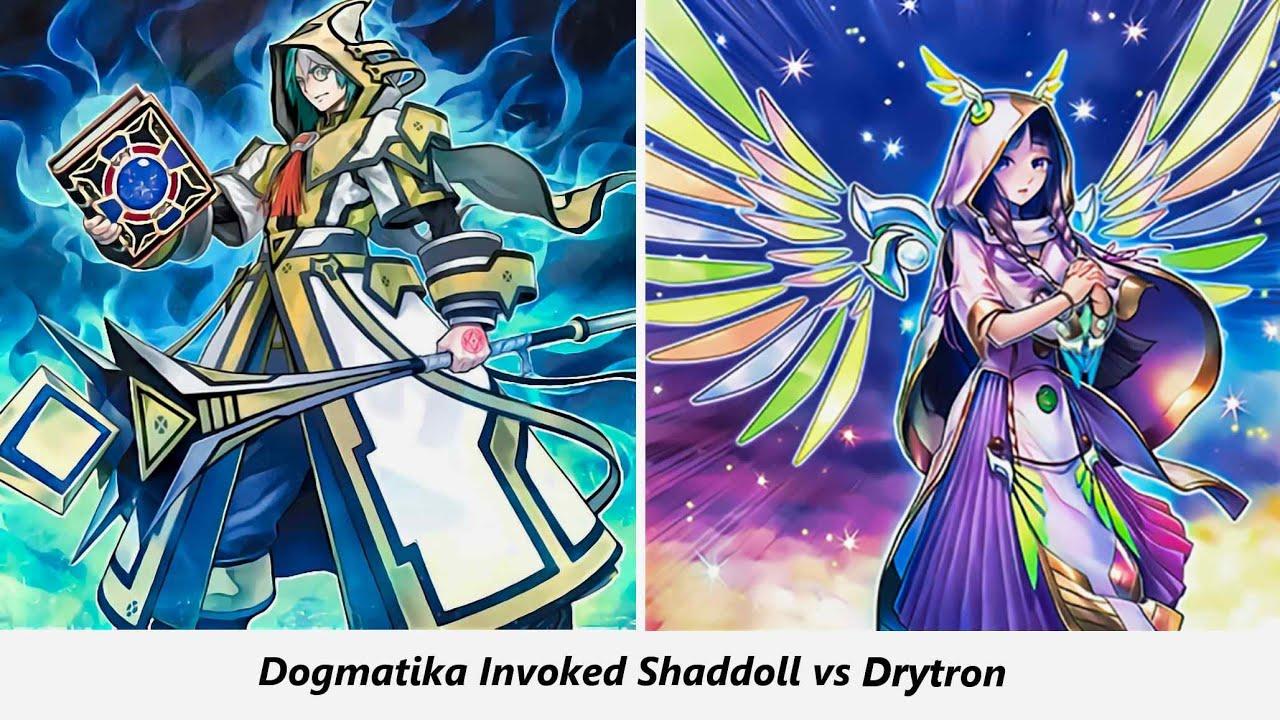 Giải đấu YUGIOH ONLINE top 8 | Invoked Dogmatika Shaddoll vs Drytron