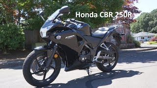 Honda CBR 250R Walkaround - Perfect Starter Bike