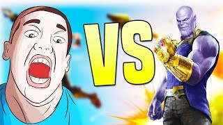 I KILLED THANOS! - Infinity Gauntlet Fortnite Gameplay Commentary - Fortnite Battle Royale