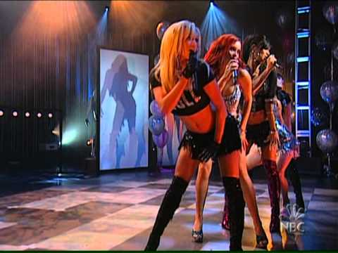Pussycat Dolls   Loosen up my buttons Live + super sexy
