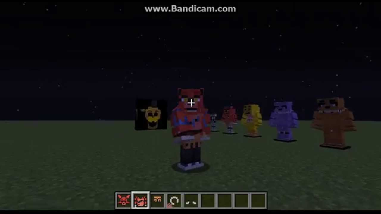 Minecraft fnaf texture pack review youtube