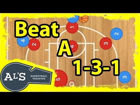 How To Defeat A 1-3-1 Zone Defense In Basketball