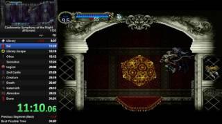 Castlevania: Symphony of the Night, All Bosses speedrun in 31:35