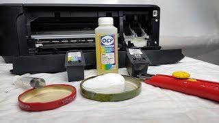 Принтер засох намертво. Промывка и восстановление картриджей Canon PG-440/445 и CL-441/446