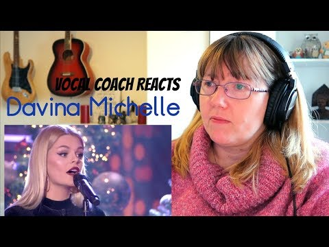 Vocal Coach Reacts to Davina Michelle Imagine RTL LATE NIGHT
