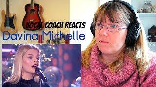 Vocal Coach Reacts to Davina Michelle Imagine RT