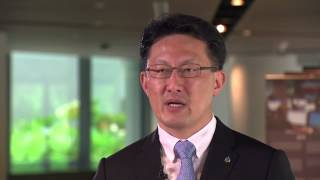 "Noboru Nakatani ""Mobility Of Data Carries Risk"" 