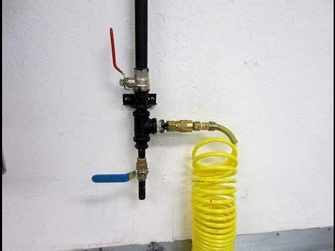 SHOP Compressor Pipe Setup