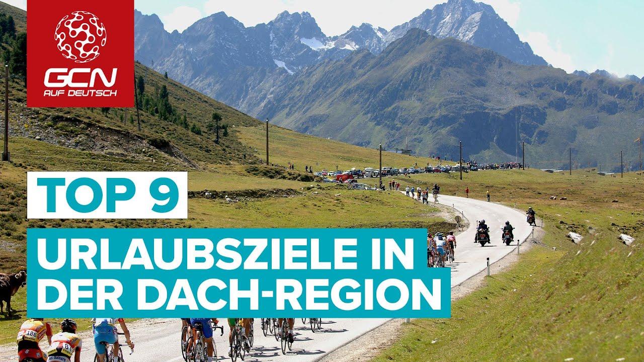 Top 9  Urlaubsregionen und Bikepacking Touren im deutschsprachigen Raum