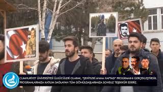 Sivas Fırat Çakıroğlu Anma Haftası - Cumhuriyet Üniversitesi Ülkücüleri