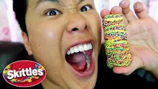 One of DavidParody's most viewed videos: 100 LAYERS OF SKITTLES!!!