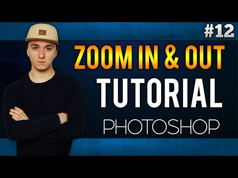 How To Zoom In And Out EASILY! - Adobe Photoshop C