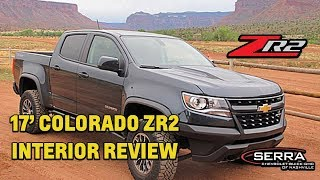 Interior Only: 2017 Chevy Colorado ZR2 REVIEW Serra Chevrolet Buick GMC of Nashville