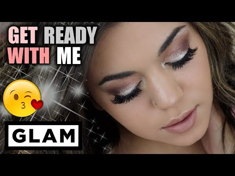 GET READY WITH ME : GLAM WEEKEND LOOK!