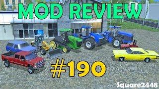 Farming Simulator 17 Mod Review #190 2014 Silverado, Bronco, Telehandler & Tractors