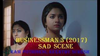 Businessman 3 2017 Telugu Film Dubbed Into Hindi Full Movie    Sad Moment Ram Pothineni, Keerthy Sur