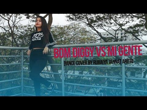 Bom Diggy Vs Mi Gente | Dance Cover By Rubaiya Jannat Aritri