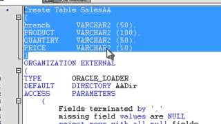 Oracle External Table Concept To Build Integration