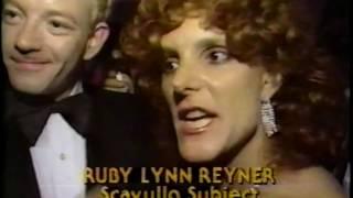 Jackie Curtis Ruby Lynn Reyner Scavullo Joe Franklin 1985