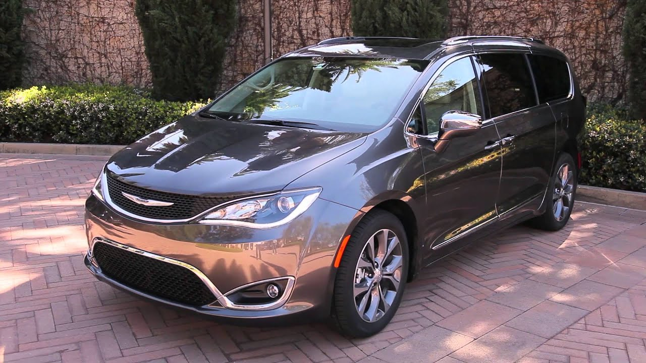 2017 Chrysler Pacifica First Drive