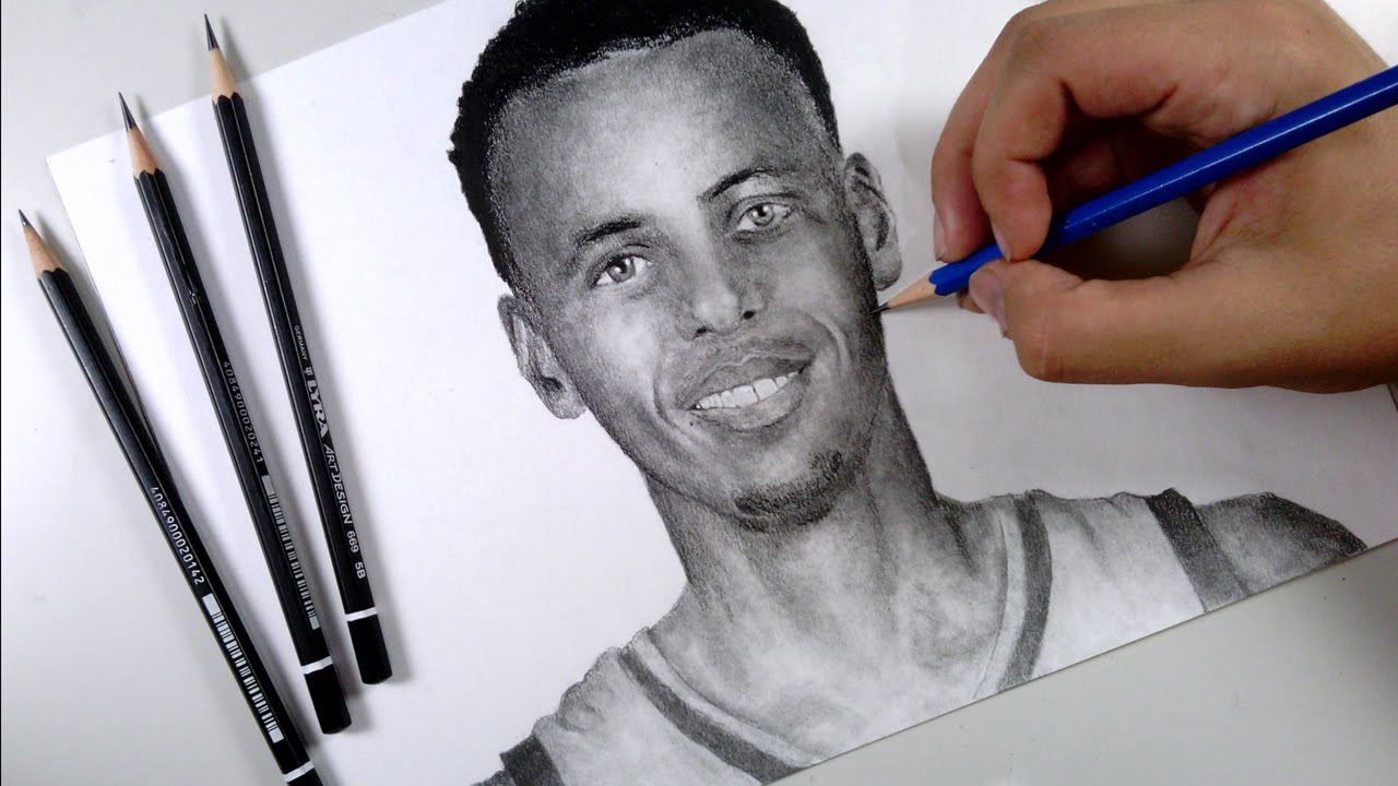 how to draw stephen curry symbol