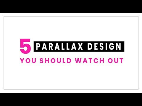 5 Awesome Parallax Effects you Must See