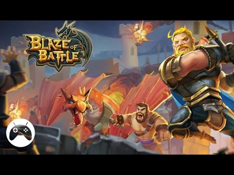 blaze of battle android gameplay youtube