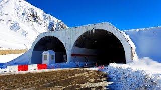 Türkiye'nin En Uzun Tüneli | Ovit Tüneli (14.3 km) | World's 3. Longest Tunnel (Europe's 1.) ✔️