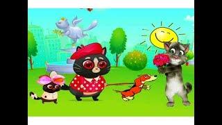 КОТЕНОК БУБУ #54 -Мой виртуальный котик - игровой мультик для малышей видео для детей  #УШАСТИК KIDS