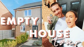 EMPTY HOUSE TOUR | WE BOUGHT OUR FIRST HOUSE!