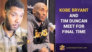 Gambar cover Kobe Bryant & Tim Duncan After Their Final Matchup