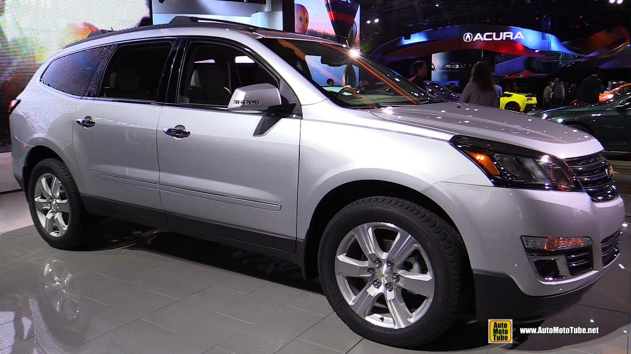 2016 Chevrolet Traverse Ltz Exterior And Interior Walkaround Detroit Auto Show