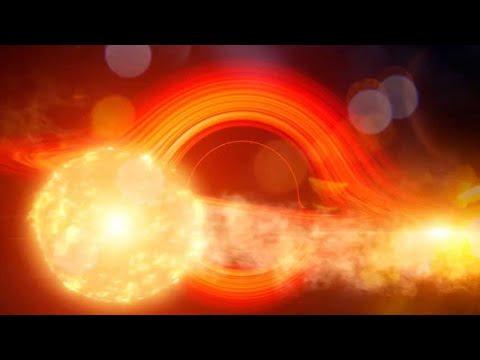 Un agujero negro monstruoso arroja energía con tanta regularidad