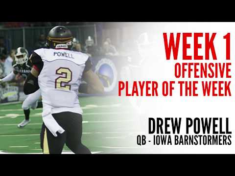 Week 1 Offensive Player of the Week: Drew Powell