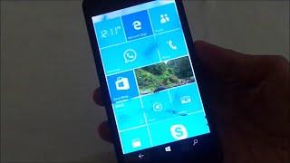 Windows 10 Build 10149.0 in microsoft lumia 535