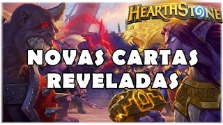 HEARTHSTONE - NOVAS CARTAS REVELADAS! (O RINGUE DO RASTAKHAN)