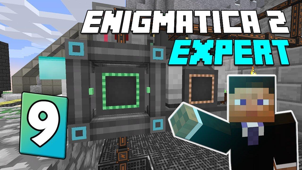 Enigmatica 2: Expert Mode - EP 9   Mekanism power storage & Dungeon crawling